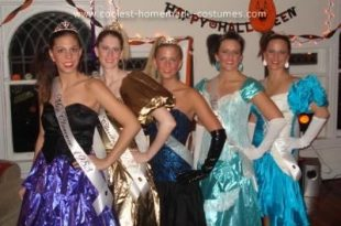Coolest Homemade 80s Prom Queen Costume | 80s prom dress costume .