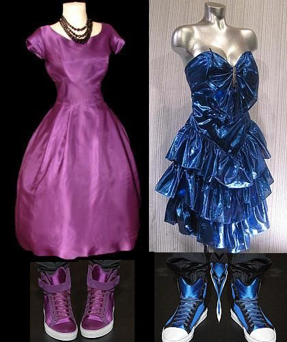 1980s prom dresses with matching sneakers! | Prom dress pictures .