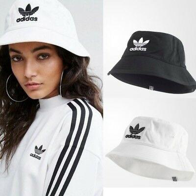 ADIDAS Originals Bucket Hat Cap White Black OSFC OSFY OSFW OSFM .
