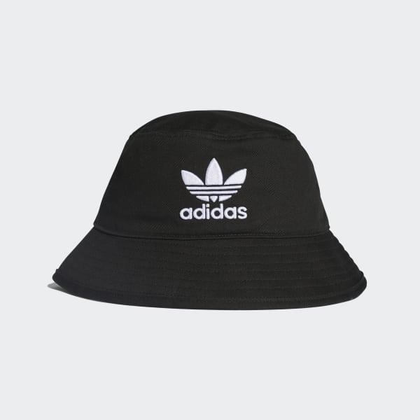 adidas Adicolor Bucket Hat - Black | adidas