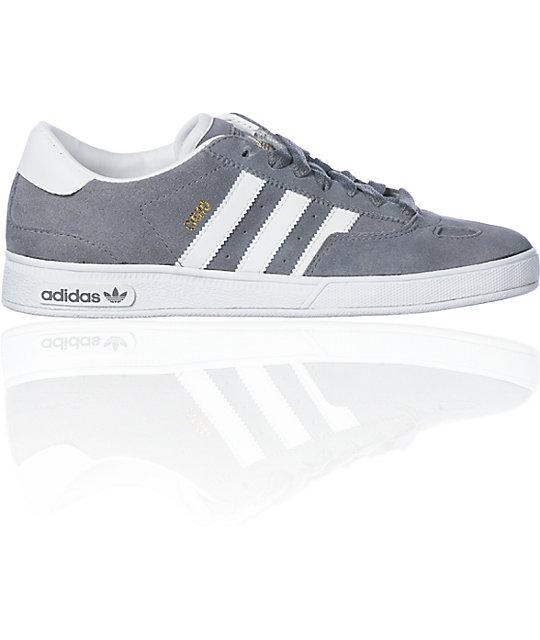 adidas Ciero Grey & White Shoes | Zumi