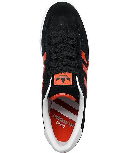 adidas Ciero Black & Red Shoes | Zumi