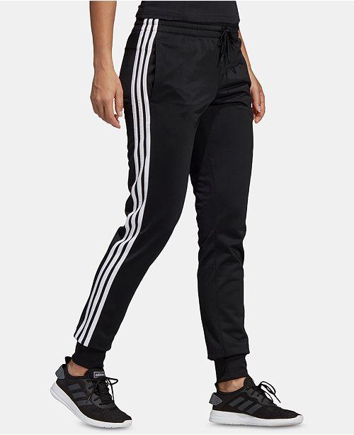 adidas Women's Essential 3-Stripe Tricot Joggers & Reviews - Women .
