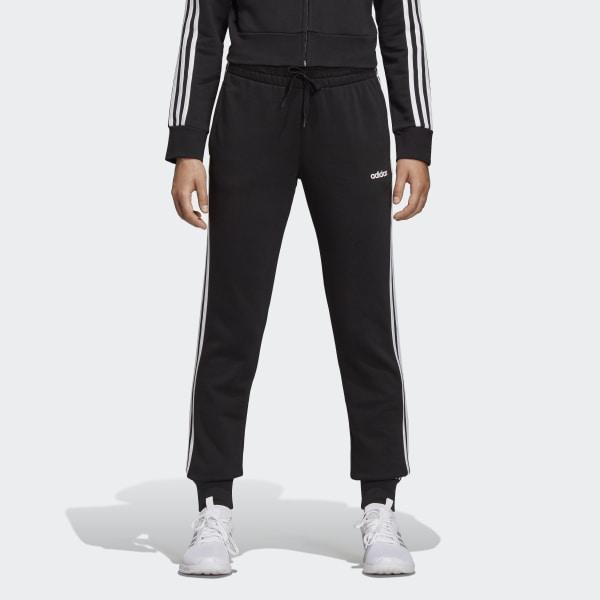 adidas Essentials 3-Stripes Joggers - Black | adidas