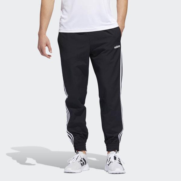 adidas 3-Stripes Woven Joggers - Black | adidas