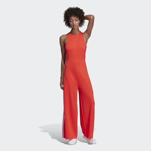 adidas Jumpsuit - Red | adidas