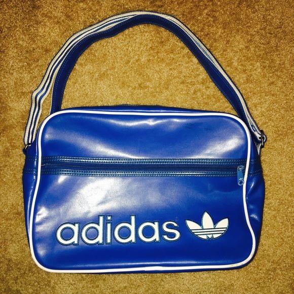 Adidas Messenger Bag Used Adidas messenger bag in blue. Bag is in .