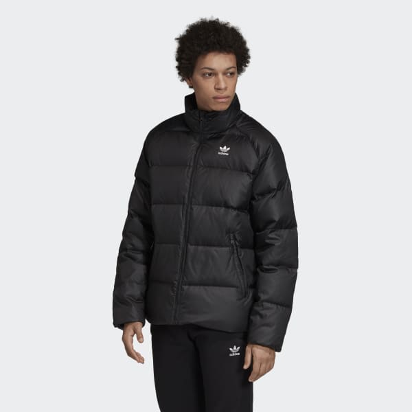 adidas Down Jacket - Black | adidas