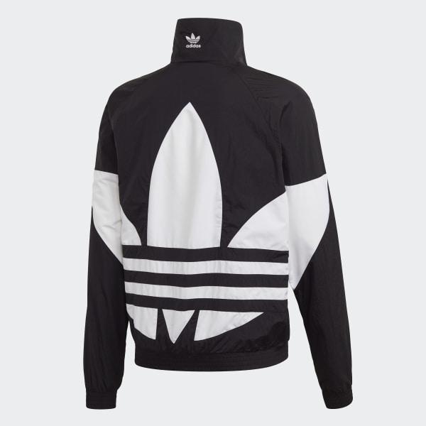 adidas Big Trefoil Track Jacket - Black | adidas