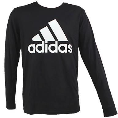 Adidas Badge Of Sport   Mens Long Sleeve T Shirts   Rogan's Sho