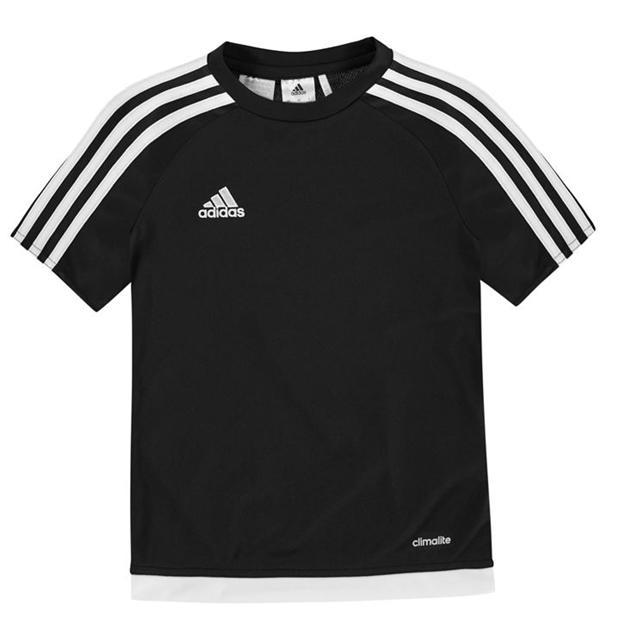 adidas   adidas 3 Stripe Sereno T Shirt Junior Boys   Kids T .