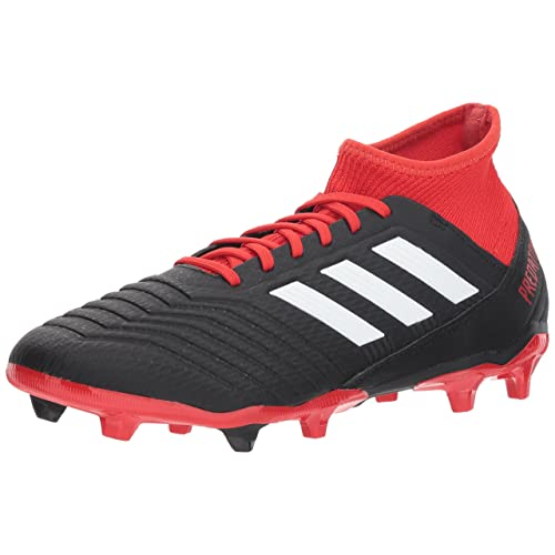 red and White adidas Soccer Shoes: Amazon.c