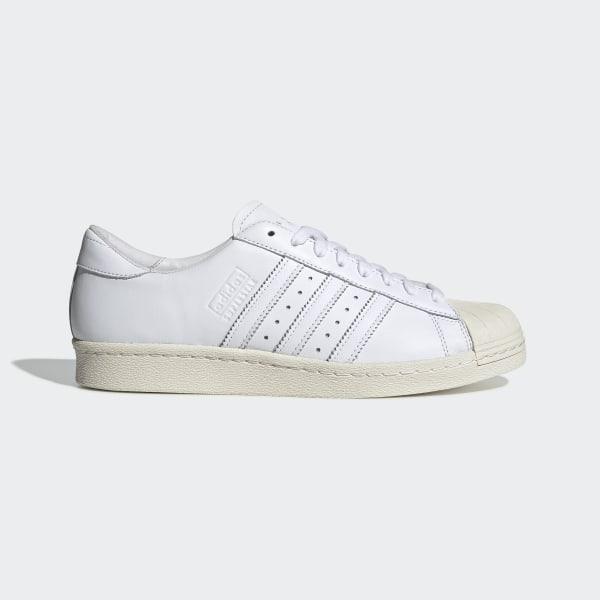 adidas Superstar 80s Shoes - White   adidas New Zeala