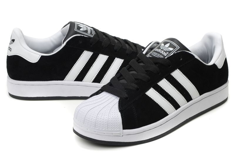 Adidas Superstars II... can't go wrong with old school.   Adidas .