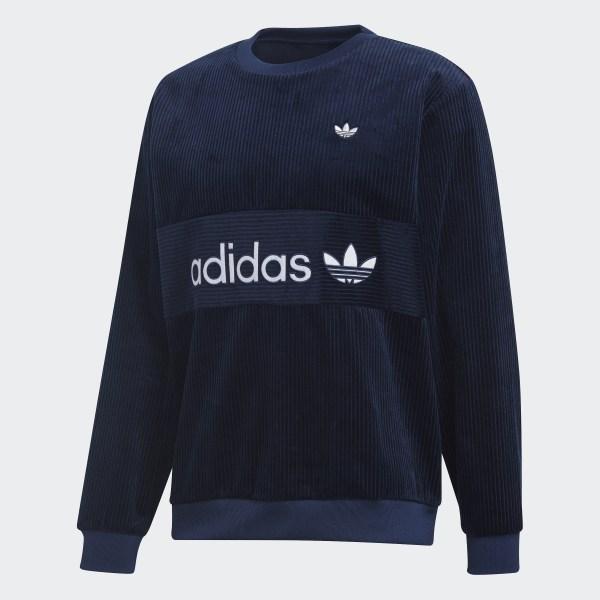 adidas Samstag Corduroy Sweatshirt - Blue | adidas