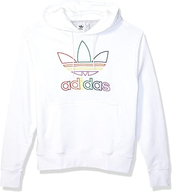 Amazon.com: adidas Originals Men's Pride Hooded Sweatshirt: Clothi