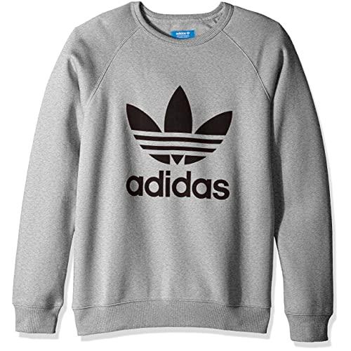 adidas Logo Sweatshirt: Amazon.c