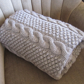 Blackberry Cables Throw/blanket/afghan pattern by ... - Ravel