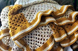 Amazon.com: Crochet, Twin, Afghan, Blanket, Handmade, Gender .
