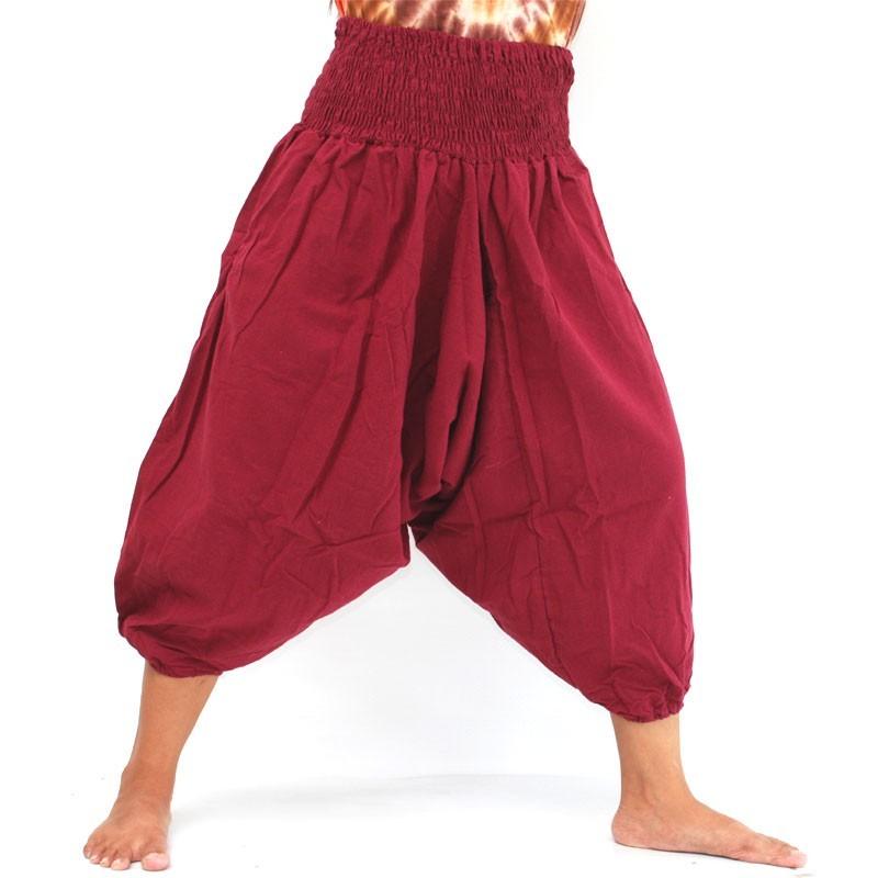 3/5 Aladdin Pants in cotton 3/5 Aladdin Pants in cotton red TC