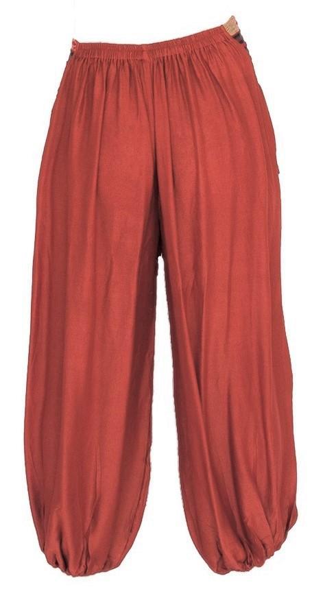 Men's Aladdin Pants in Orange – The High Th