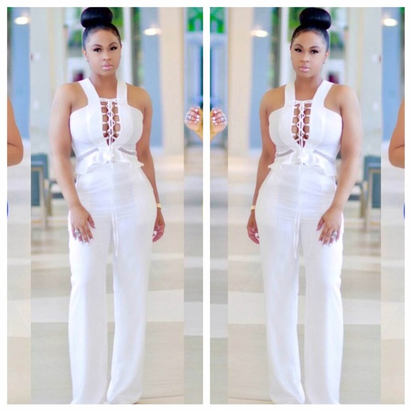 All White Jumpsuits