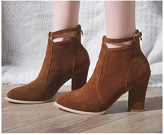 Amazon.com: Hemlock High Heels Ankle Boots, Women Ladies Booties .