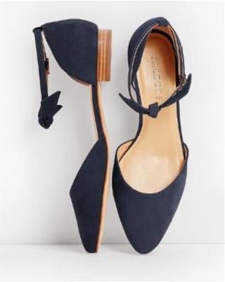 2020 Sales on Talbots Women's Edison Ankle Strap Flats Sue