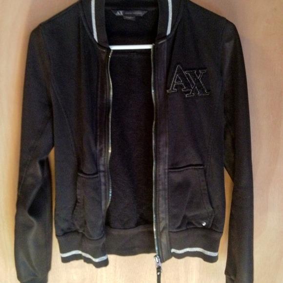Armani Exchange Jackets & Coats   Varsity Jacket   Poshma
