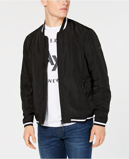 A X Armani Exchange Lightweight Bomber Jacket & Reviews .