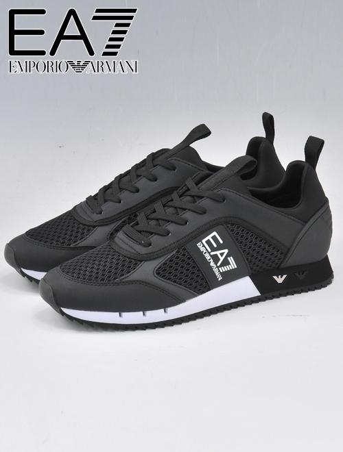 Deradera: Emporio Armani EA7 エアセッテ ARMANI men mesh sneakers .