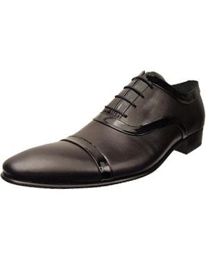 Designer Clothes Shoes | EMPORIO ARMANI Dress Leather Shoes #1