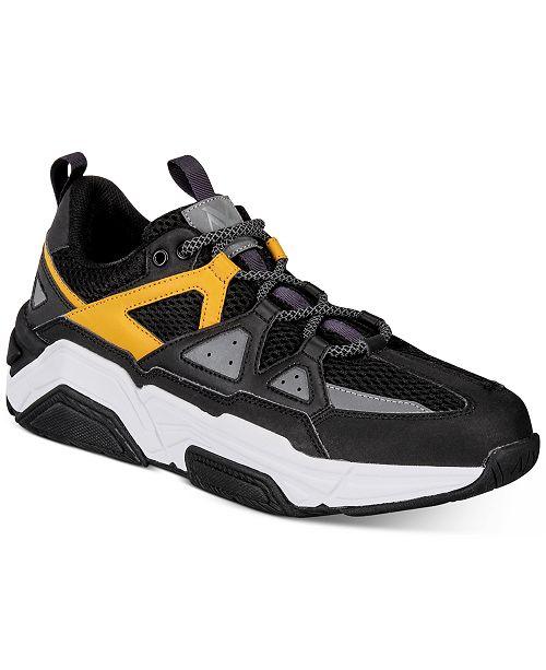 A|X Armani Exchange Armani Exchange Men's Dad Sneakers .