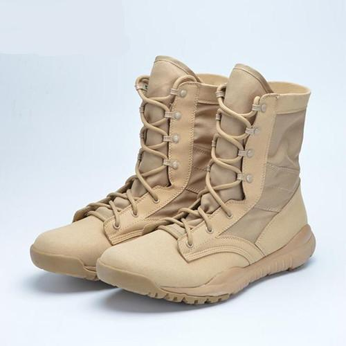 Ultralight Men Army Boots Military Shoes Combat Tactical Ankle .