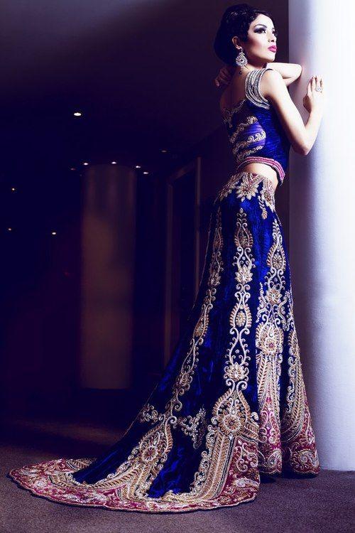 Beautiful south asian wedding dress | Indian wedding dre
