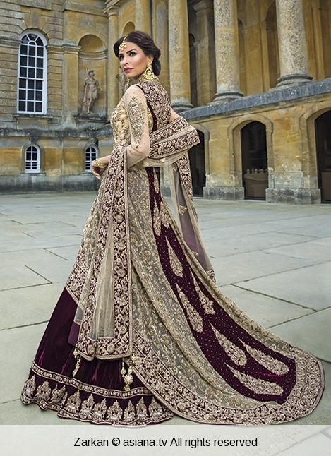 Home (With images) | Pakistani bridal wear, Asian wedding dress .