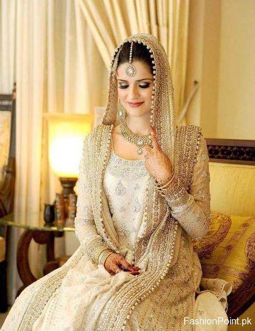 Gold indian wedding dress and asian wedding dress. www .