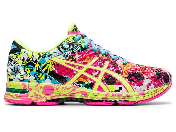 Women's GEL-Noosa Tri 11   Hot Pink/Flash Yellow/Black   Running .