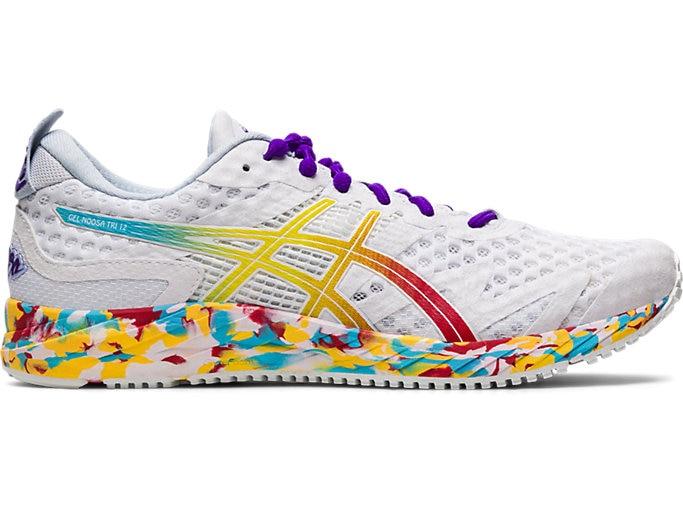 Women's GEL-NOOSA TRI™ 12   WHITE/CLASSIC RED   Running Shoes   ASI