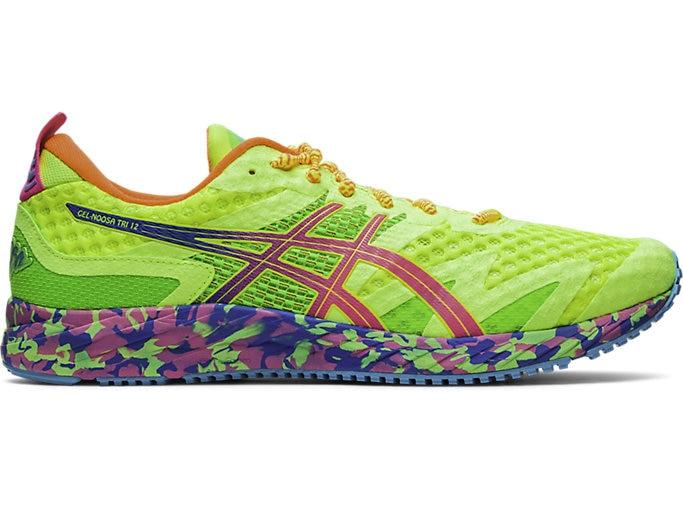 Men's GEL-NOOSA TRI™ 12   SAFETY YELLOW/HOT PINK   Running Shoes .