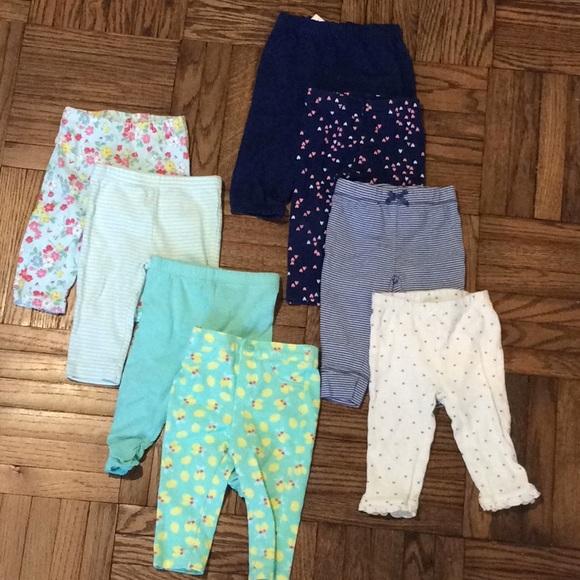 Carter's Bottoms | Carters Baby Girl Leggings 6 Months | Poshma