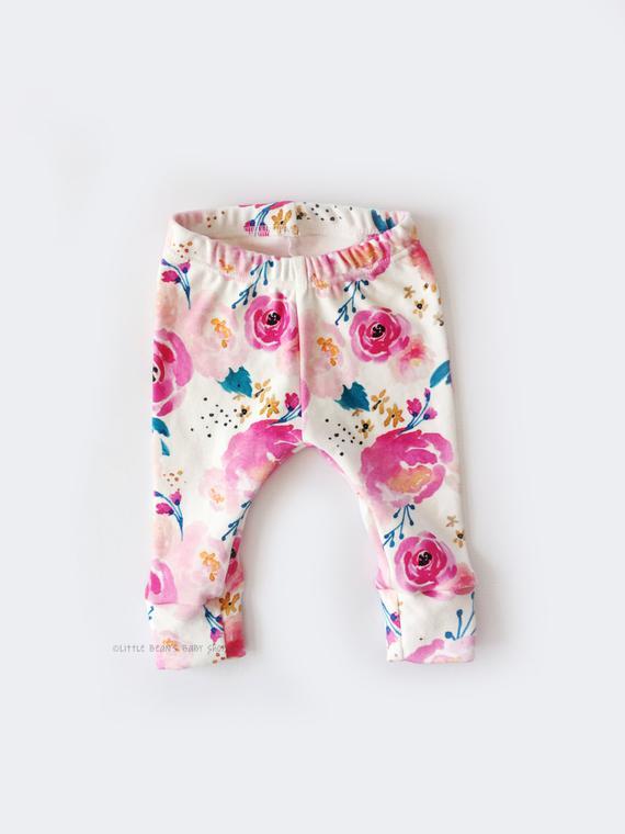 Items similar to baby girl, baby girl leggings, girl leggings .