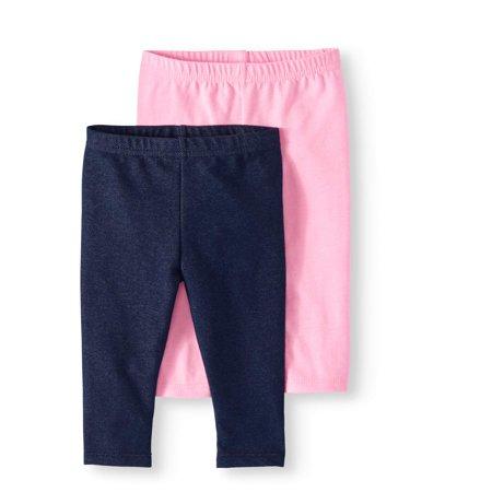 Garanimals - Baby Girl Leggings, 2-pack - Walmart.com - Walmart.c