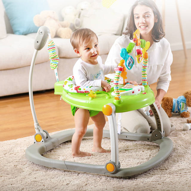Musicl Baby Jumper Rainforest Jumperoo Baby Learning Walker Stand .