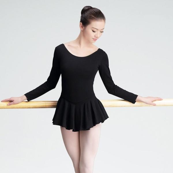 Women Ballet Dancewear Adult Dance Practice Clothes Gymnastics .