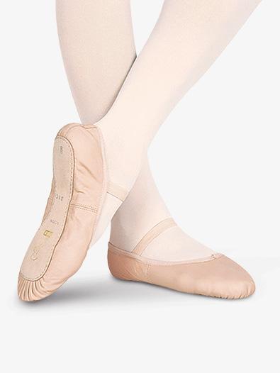 "Toddler ""Dansoft"" Leather Full Sole Ballet Shoes - Ballet Shoes ."