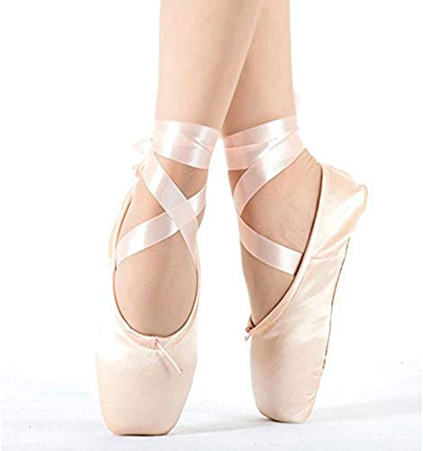 Amazon.com   Smartodoors Ballet Shoes Pink Point Ballet Shoes for .