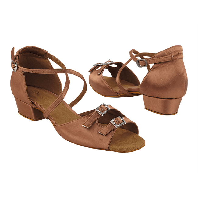Very Fine 1620FT 1″ Girls Ballroom Shoes – Movin' Easy Dancewe