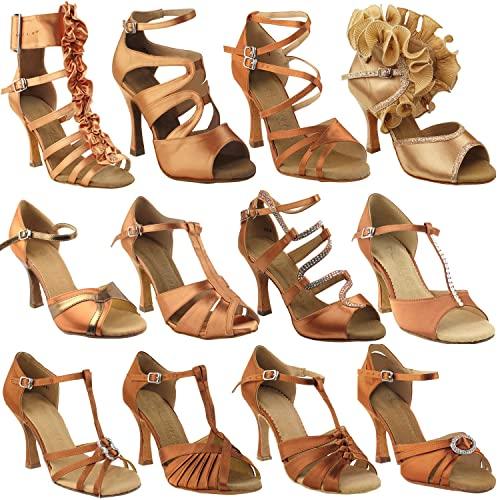 Amazon.com   50 Shades of TAN Dance Shoes for Women 1: Latin .