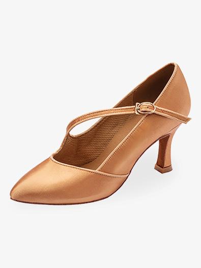 "2"" Heel Closed Toe Ballroom Shoes - Ballroom, Std. Smooth ."